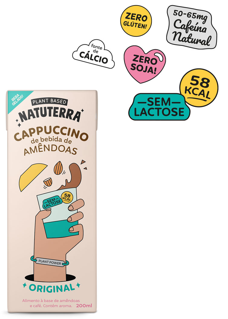 Cappuccino sabor Original - Natuterra