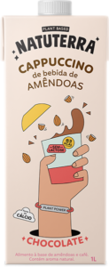 Cappuccino de Amêndoas sabor Chocolate - Natuterra