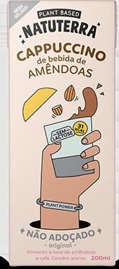 Cappuccino de Amêndoas não adoçado - Natuterra